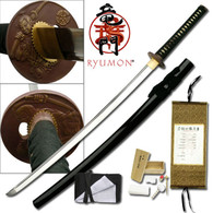 RYUMON HAND FORGED SAMURAI SWORD