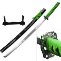 SAMURAI KATANA (Green Cord)