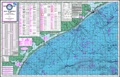 Fishing Map (With GPS) - Hook-N-Line F-131 Gulf of Mexico Offs on