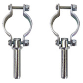 Whitecap Clamp-On Oarlocks - Zinc Plated