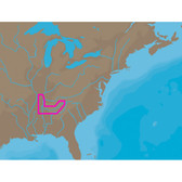 C-MAP NT+ NA-C041 - TN River Paducah-Knoxville - Furuno FP-Card