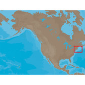 C-MAP NT+ NA-C313 - Muscongus Bay-Cape May: Bathy - Furuno FP-Card