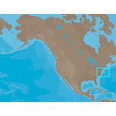 C-MAP NT+ NA-C314 - Sandy Hook-Cape Fear: Bathy - Furuno FP-Card