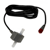 Lowrance Fuel Flow Sensor w/10' Cable & T-Connector