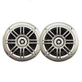 "Milennia SPK652S 6.5"", 2-Way Marine Speakers - 150W - Silver"