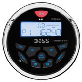 Boss Audio MGR350B Marine Gauge Style Radio - MP3/AM/FM/RDS Receiver