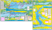 Fishing Map (With GPS) - Hook-N-Line F-115 Lower Laguna Madre