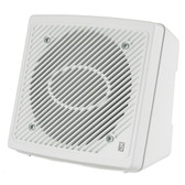 "Poly-Planar 5.25"" Premium Enclosed Flush 2-Way Marine Speaker - (Pair) White"