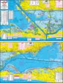 Fishing Map (With GPS) - Hook-N-Line F-130 Rockport Wade Fishing, Fly Fishing & Kayak