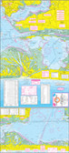 Fishing Map (With GPS) - Hook-N-Line F-134 Mesquite Bay to Lower San Antonio Bay Wade Fishing, Fly Fishing & Kayak