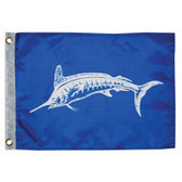 "Taylor Made 12"" x 18"" White Marlin Flag"