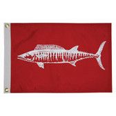 "Taylor Made 12"" x 18"" Wahoo Flag"