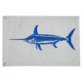 "Taylor Made 12"" x 18"" Swordfish Flag"