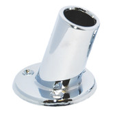 "Taylor Made 1"" Slanted Chrome Plated Flag Pole Socket"