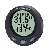 Lowrance LST-3800 In-Dash Digital Depth & Temp Guage w/TM Transducer