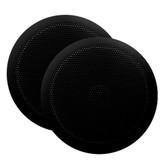 "Majestic Ultra Slim 6"" Marine Speaker - 30W - Pair - Black"