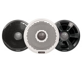 "FUSION FR7022 7"" Round 2-Way IPX65 Marine Speakers - 260W - Pair with 3 Speaker Grilles Provided - *Case of 6 Pairs*"