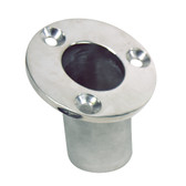 "Whitecap Flush Mount Flag Pole Socket - Stainless Steel - 1-1\/4"" ID"