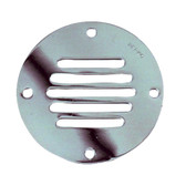 Perko Chrome Plated Brass Round Locker Ventilator - 3-1\/4""