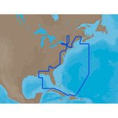 C-MAP MAX NA-M022 - U.S. East Coast & The Bahamas - C-Card