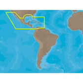 C-MAP MAX NA-M027 - Central America & The Caribbean - C-Card