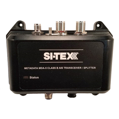 SI-TEX MDA-5 Hi-Power 5W SOTDMA Class B AIS Transceiver w\/Built-In Antenna Splitter  Long Range Wi-Fi