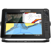 Lowrance HDS-12 LIVE w\/Active Imaging 3-in-1 Transom Mount  C-MAP Pro Chart