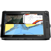 Lowrance HDS-16 LIVE w\/Active Imaging 3-in-1 Transom Mount  C-MAP Pro Chart