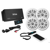 Boss Audio ASK904B.64 4-Channel Bluetooth Amplifier w\/4 Speakers