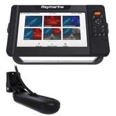 Raymarine Element 9 HV Combo w\/HV-100 Transducer  Nav+ US  Canada Chart