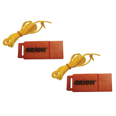 Orion Safety Whistle w\/Lanyards - 2-Pack