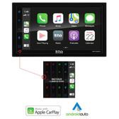 Boss Audio MRCP9685A Stereo w\/AM\/FM\/BT  Apple CarPlay