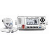 Icom M424G VHF Radio w\/Built-In GPS - White
