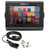 Simrad GO7 XSR Chartplotter\/Fishfinder w\/Active Imaging 3-in-1 Transom Mount Transducer  C-MAP Discover Chart