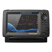 Lowrance HOOK Reveal 7 Combo w\/TripleShot Transom Mount  C-MAP Contour+ Card