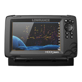 Lowrance HOOK Reveal 7 Combo w\/50\/200kHz HDI Transom Mount  C-MAP Contour+ Card