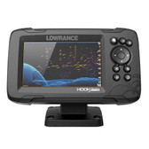 Lowrance HOOK Reveal 5 Combo w\/SplitShot Transom Mount  C-MAP Contour+ Card
