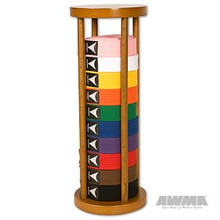 AWMA® Round Stacker Belt Display - 10 Level