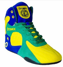 Otomix® Stingray Escape™ MMA Shoes - Yellow/Blue/Green