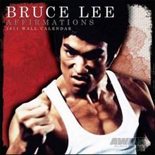 AWMA® Bruce Lee Affirmations 2011 Wall Calendar