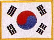 KWON® Patch Korea Flag