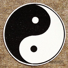 AWMA® Yin & Yang Jacket Patch