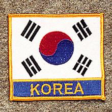 AWMA® Korea Flag/Korea Patch
