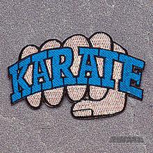 AWMA® Karate Fist Patch (Blue)