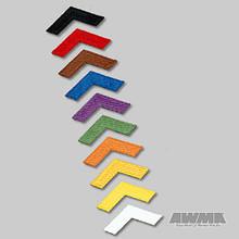 AWMA® Iron-On Chevron Patches