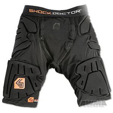 AWMA® Shock Doctor® Shockskin™ 5 Pad Impact Shorts