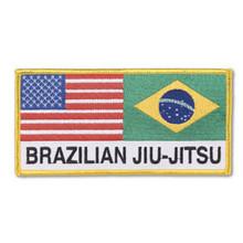 Century® BJJ-American & Brazilian Flag Patch