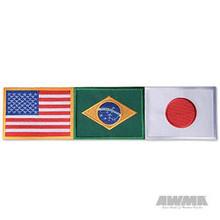 AWMA® USA/Brazil/Japan Patch - Large