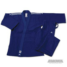 AWMA® adidas® Judo Champion Uniform - Blue