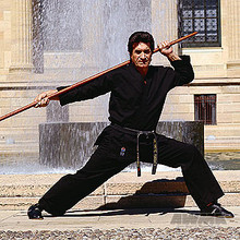 AWMA® ProForce® 8oz. Medium Weight Karate Uniform - Black